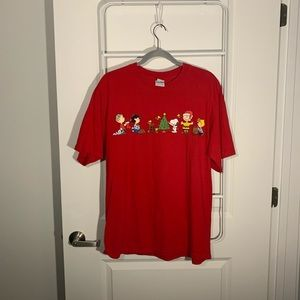 Peanuts Christmas Graphic Tee vintage inspired l